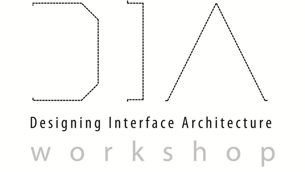 DIA - Designing Interface Architecture (Phase 1 - student workshop) project video thumbnail