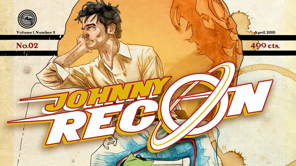 JOHNNY RECON No. 02: A Daring HI-FI Adventure Tale - A Comic Book Project project video thumbnail