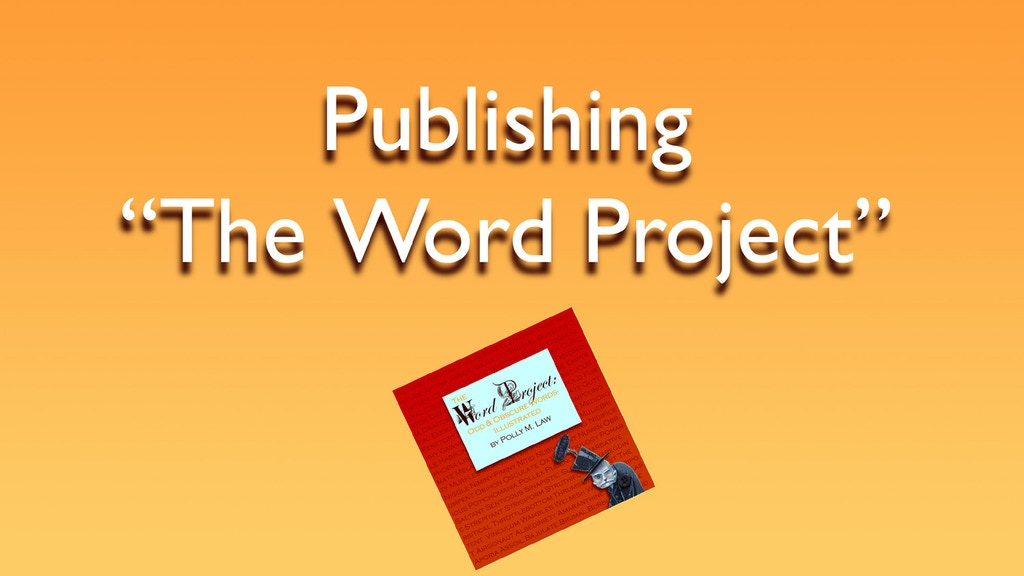 "Publishing ""The Word Project"" project video thumbnail"