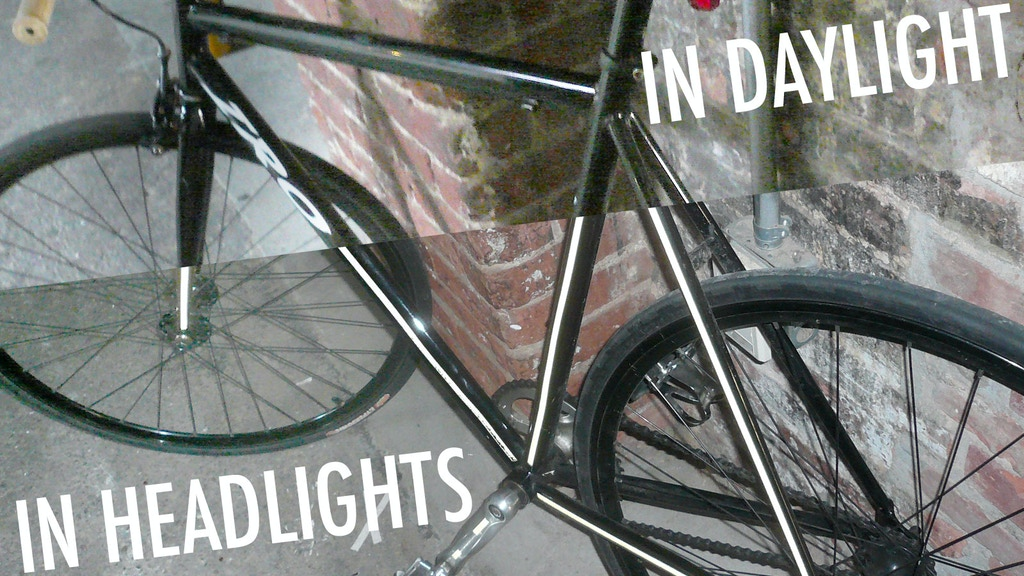 Bright Bike DIY Kits: night visibility for safer riding project video thumbnail