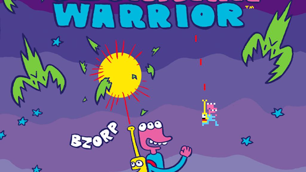 James Kochalka + Pixeljam = Glorkian Warrior project video thumbnail