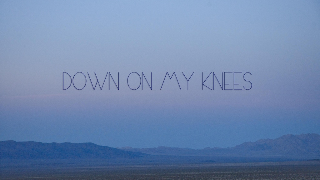 Down on my Knees - Jai Uttal's FIRST music video project video thumbnail