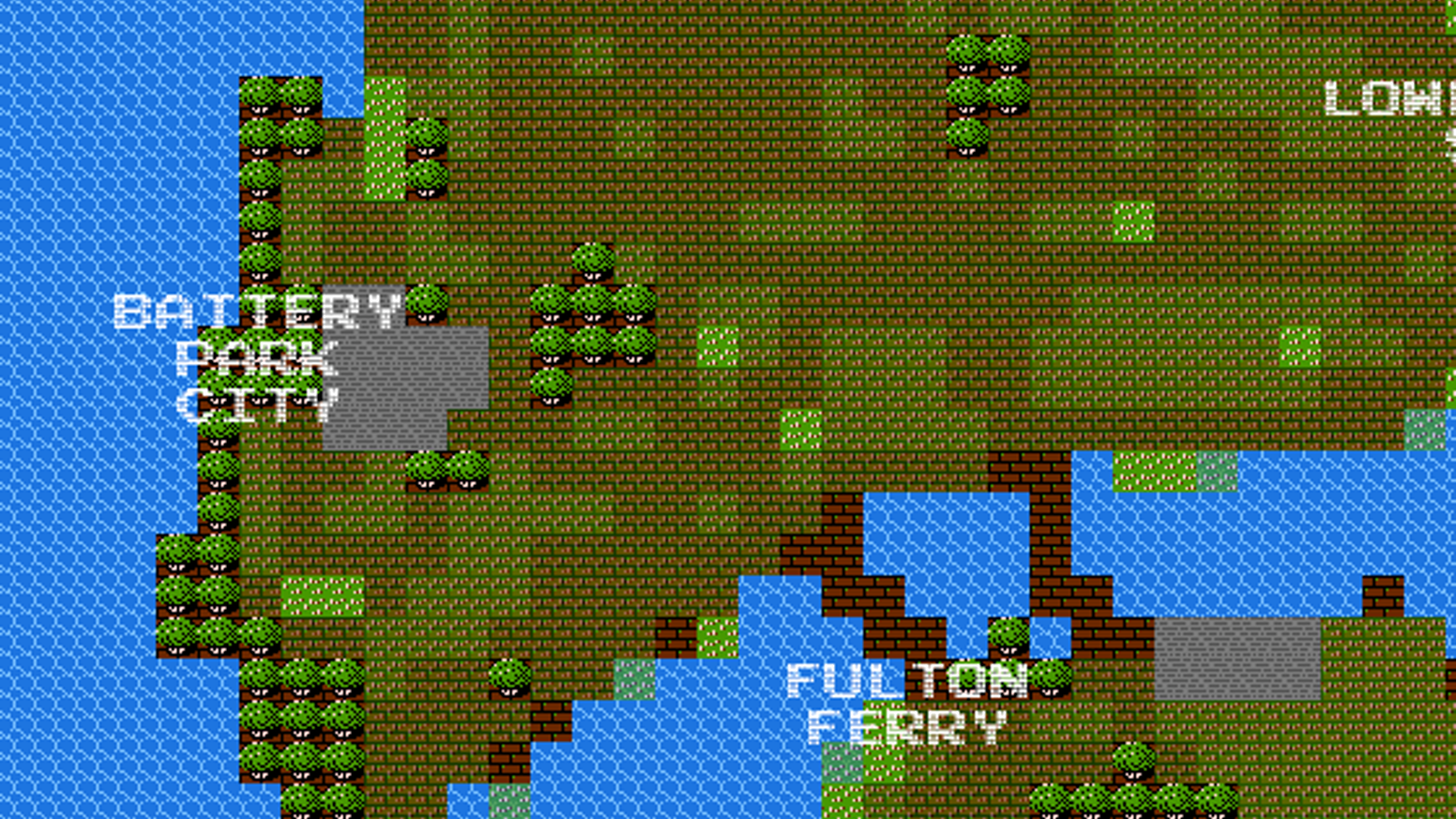 8-Bit Cities: real-world maps that look like 80s video games ... on mmo maps, epic d d maps, metro bus houston tx maps, cool site maps, interesting maps, snes maps, dragon warrior monsters 2 maps, google maps, dvd maps, all the locations of the death camp maps, prank maps, fictional maps, jrpg maps, all of westeros maps, bully scholarship edition cheats maps, made up maps, cartography maps, simple risk maps, fishing maps, house maps,