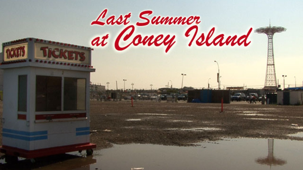 Last Summer at Coney Island (documentary) 2 project video thumbnail