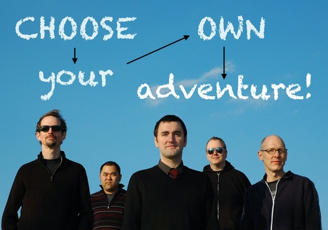 Canadian invasion 39 s choose your own adventure album by for Choose your own home