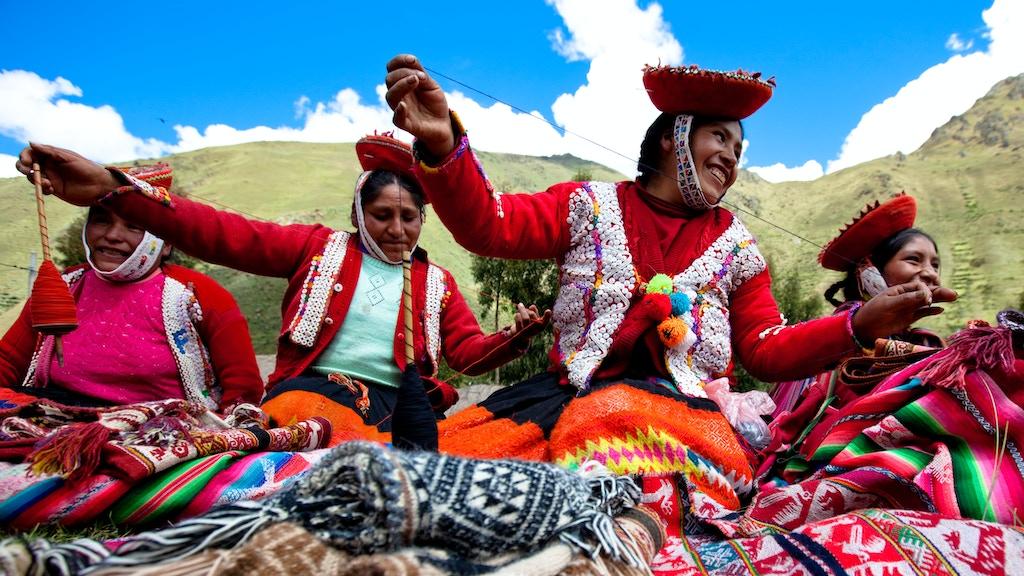 2 Quechua Girls, 8000 Miles, Cusco to Santa Fe project video thumbnail