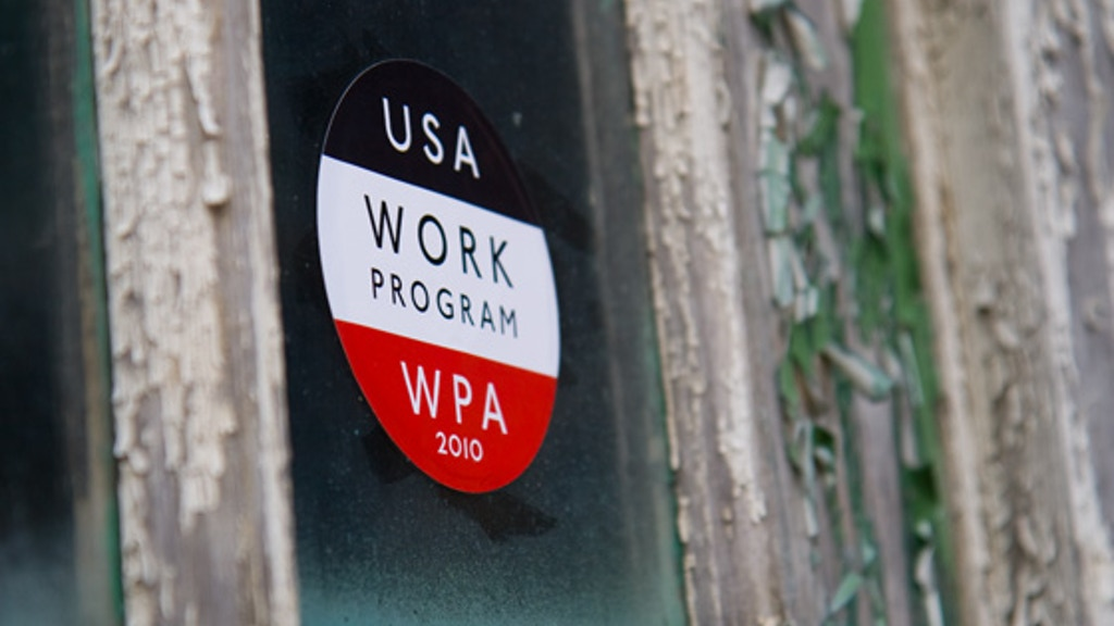 Bringing back the WPA (Work Projects Administration) b/c the Gov't hasn't. project video thumbnail