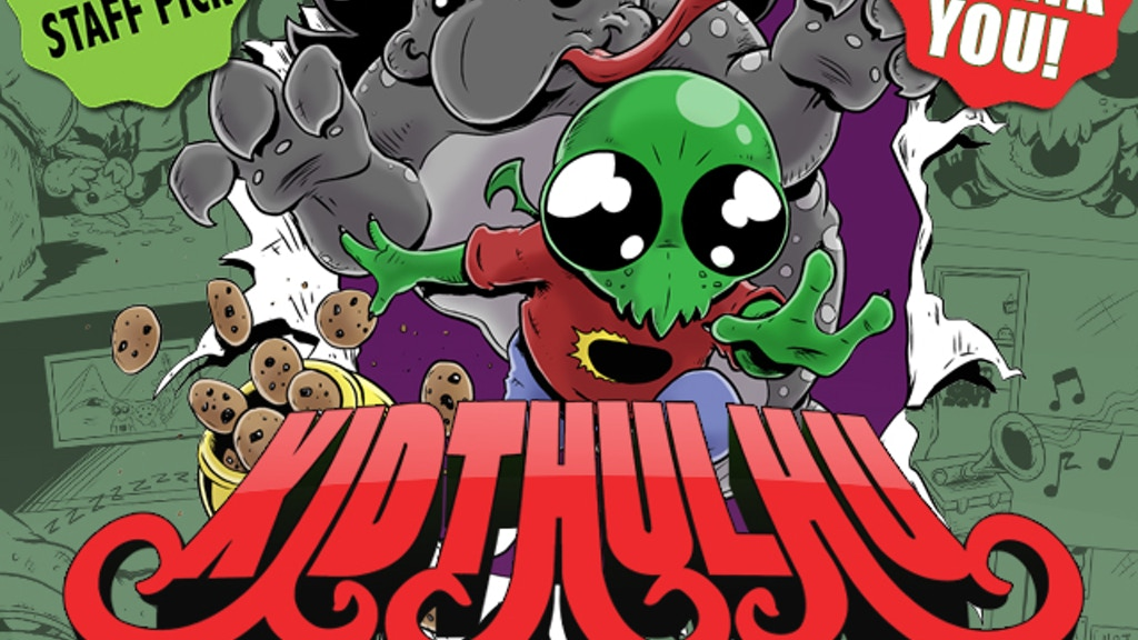 Kidthulhu: Tales of Madness #1 project video thumbnail