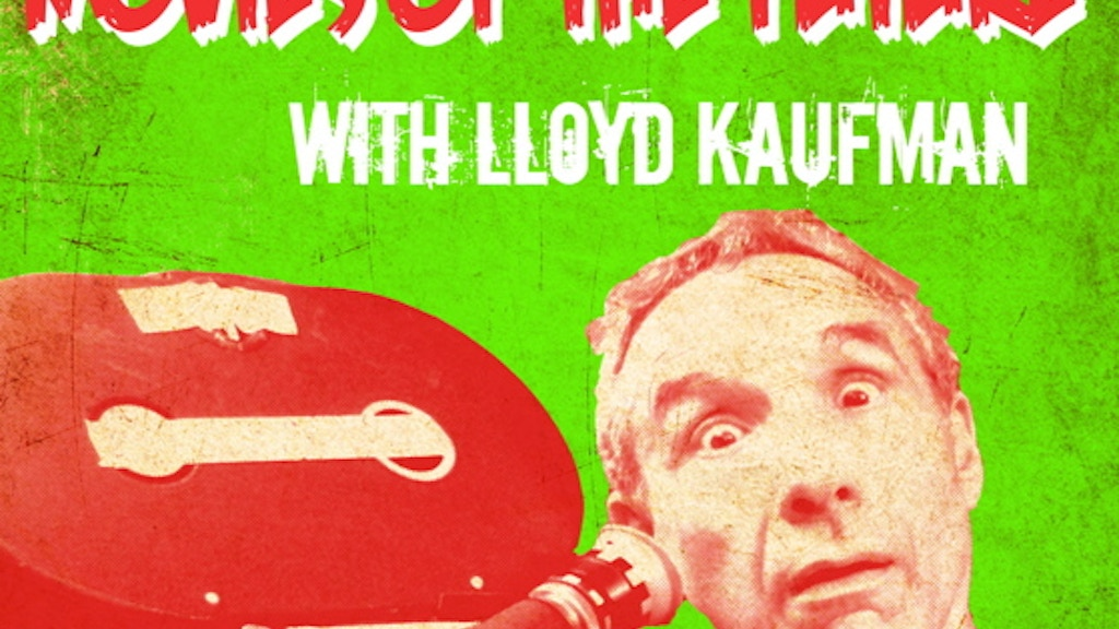 Movies of the Future With Lloyd Kaufman: A Movie About an Underground Film Icon.  project video thumbnail