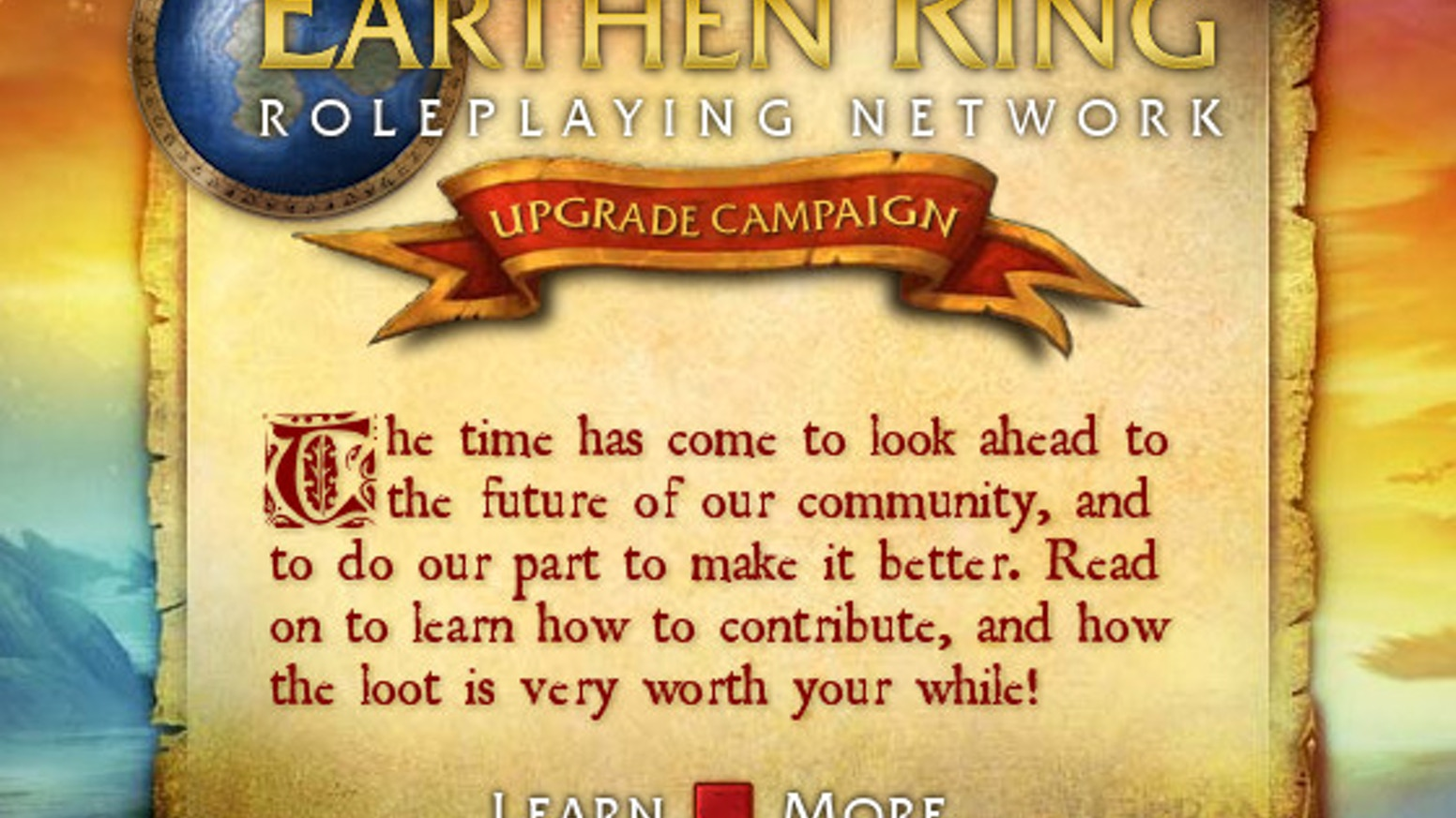 The Earthen Ring RP Network is a social network for role-players and writers of WarCraft lore. The site is in need of a new home and needs your help.