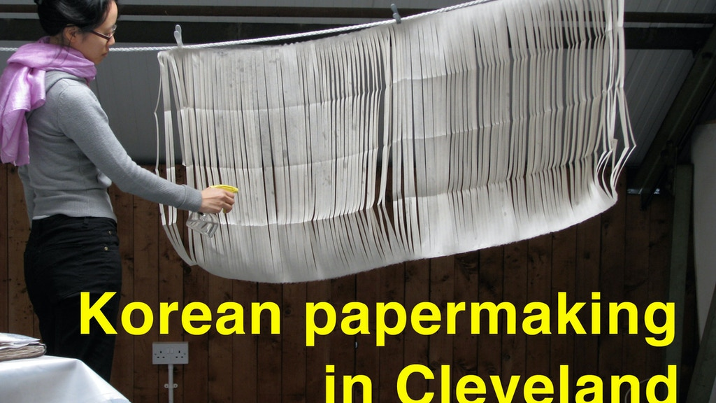 Korean Papermaking in Cleveland project video thumbnail