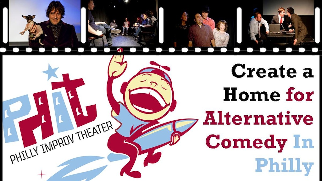 Create a Home for Alternative Comedy in Philly project video thumbnail