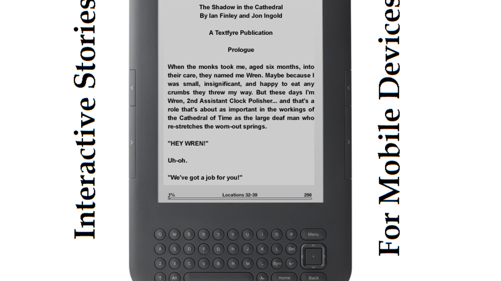 Project image for Text Adventures on Mobile Devices (Kindle/iPad)