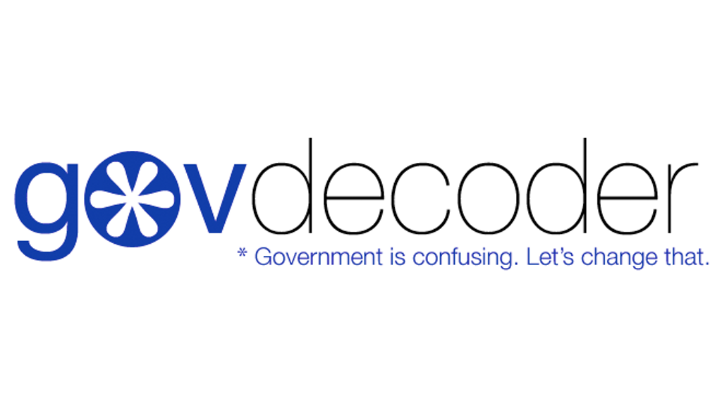 Project image for GovDecoder