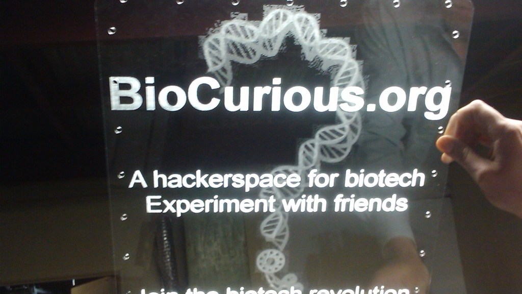 BioCurious: A Hackerspace for Biotech.  The Community Lab for Citizen Science project video thumbnail