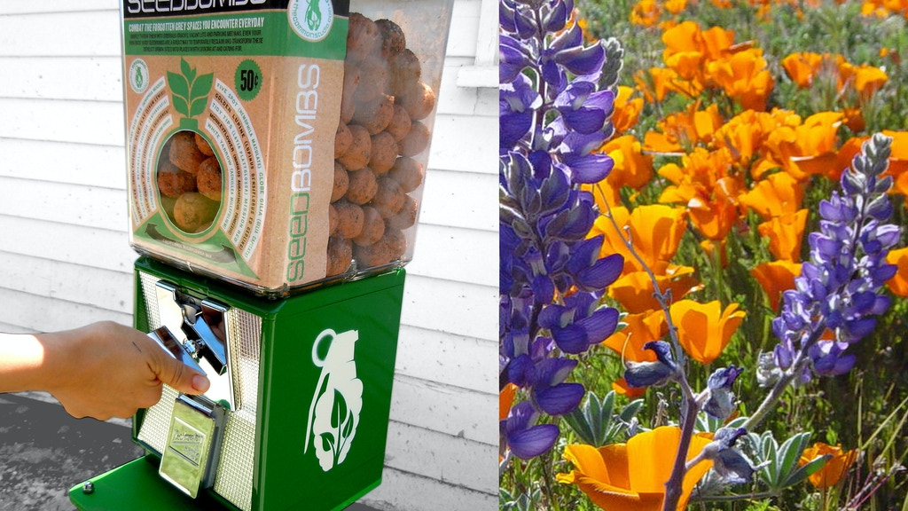 Greenaid-Seedbomb Vending for Greener Cities! project video thumbnail