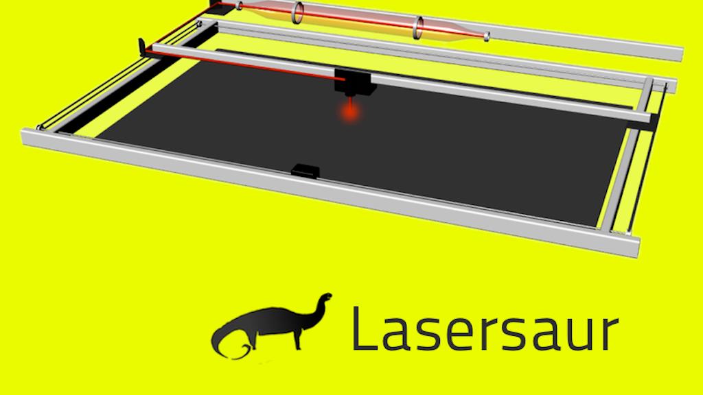 Lasersaur: Open Source Laser Cutter project video thumbnail