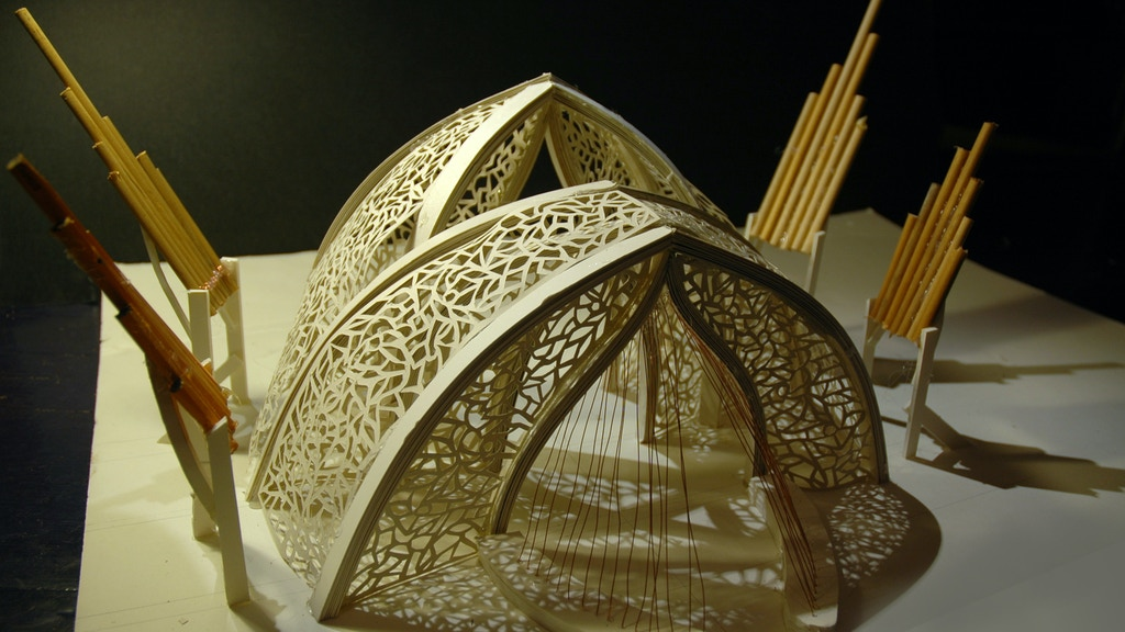The Portal - Sound Installation for Burning Man - Fire Organ, Wind Harp, Performance project video thumbnail