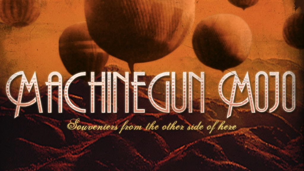 """Project image for """"Souvenirs from the Other Side of Here"""" -- new record from Machinegun Mojo"""