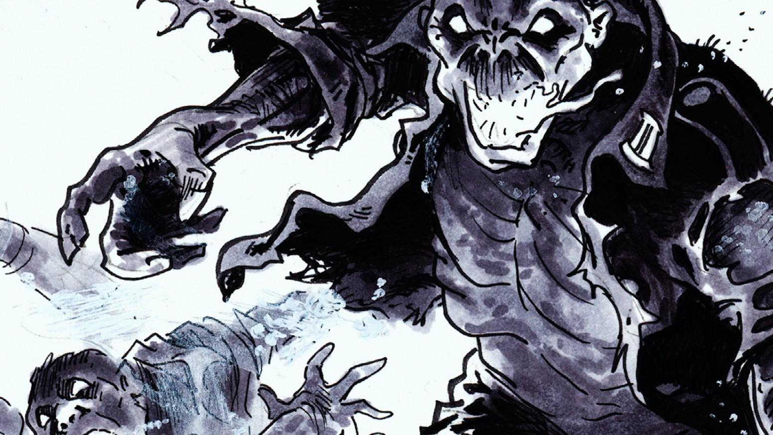 Red Fog Nazi Zombie Graphic Novel By Chris Williams Kickstarter