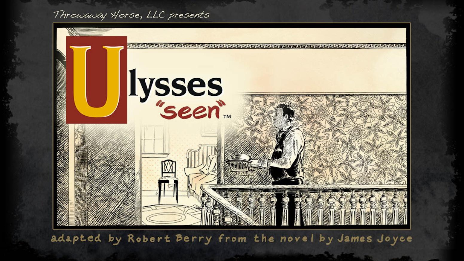 A Comic Of James Joyces Ulysses By Throwaway Horse