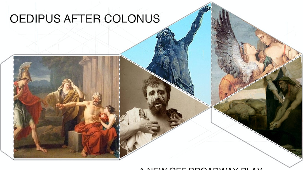 Off Broadway Play- 'Oedipus after Colonus' project video thumbnail
