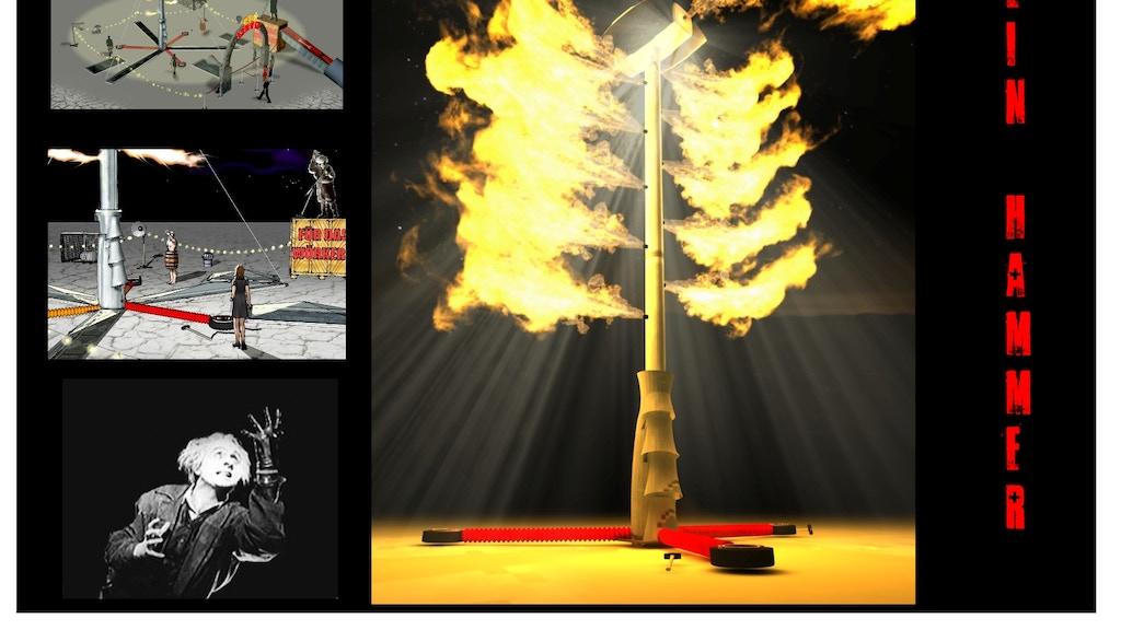 Ein Hammer Art Installation at Burning Man 2010 project video thumbnail