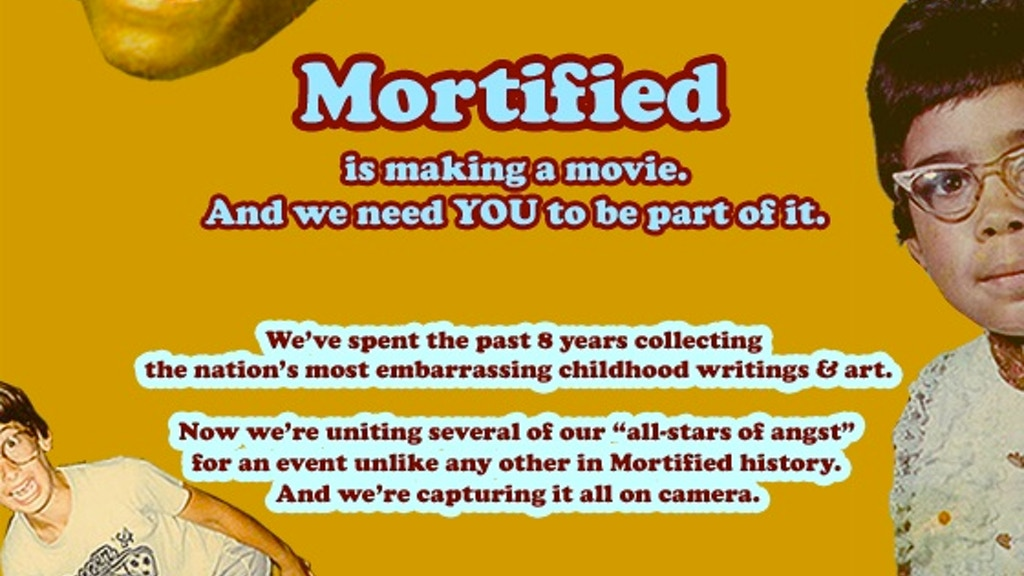 Mortified Live: Concert Film project video thumbnail