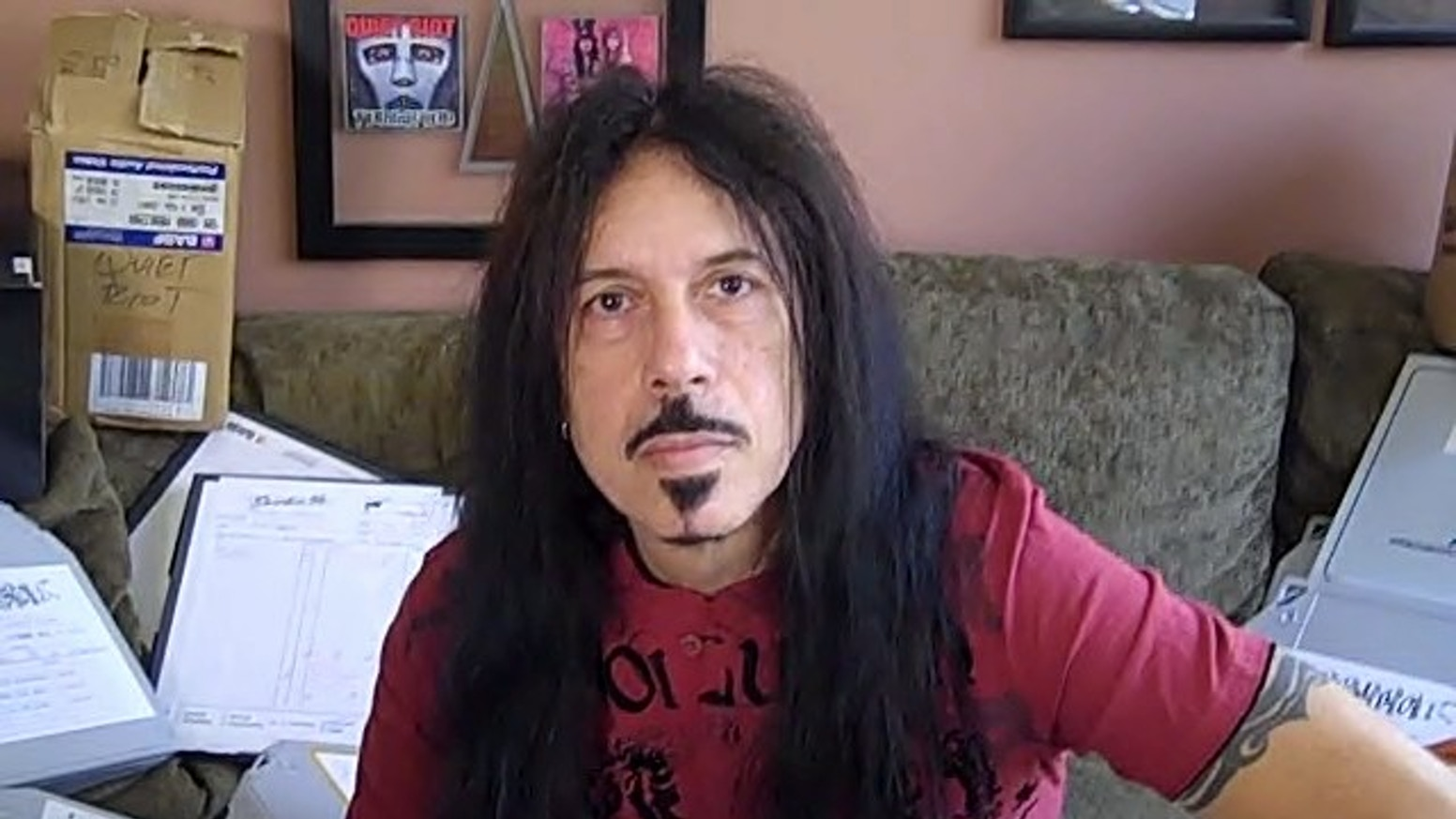 Frankie say let's make a Rockumentary! Frankie Banali of QUIET RIOT opens his personal home video vaults and his life, for a rockin' documentary.