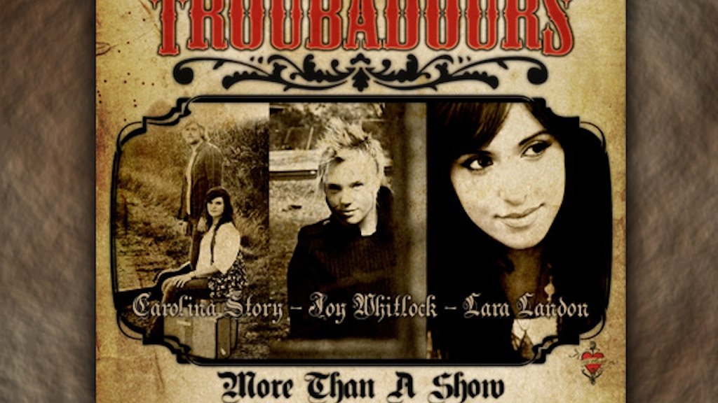"""Traveling Troubadours - """"More Than A Show"""" - Serving. Singing. Storytelling. project video thumbnail"""