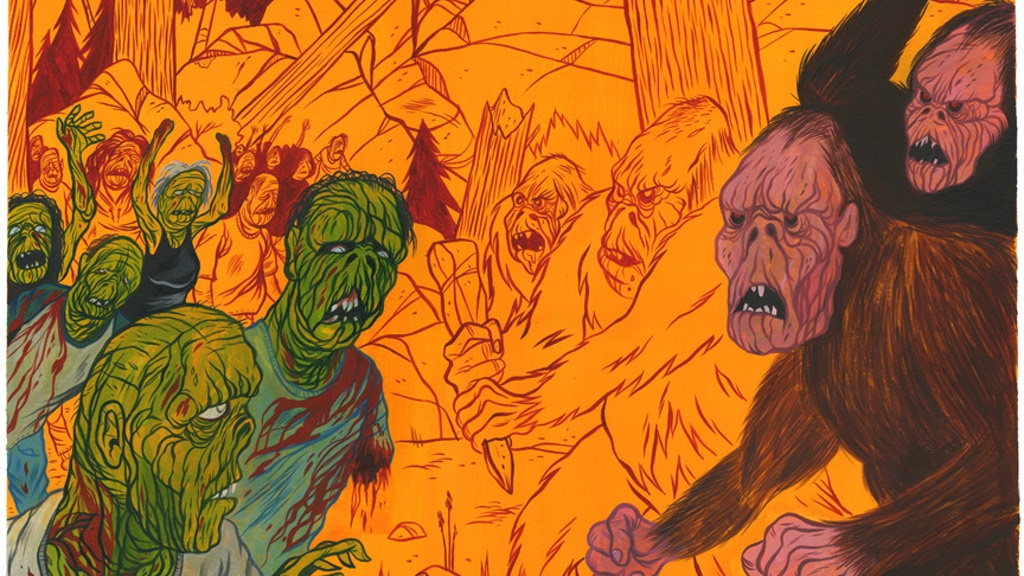 "Project image for I want to make a film called ""BIGFOOT VS THE ZOMBIES"" Let's make it happen!"