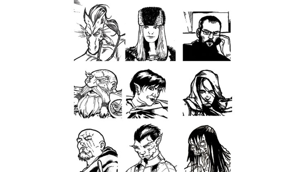 60 Terrible Character Portraits For Creative Commons