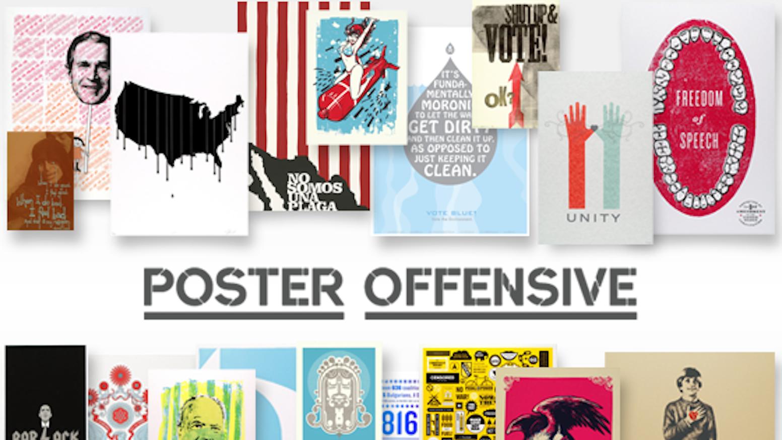 poster offensive 5 by peet fetsch kickstarter