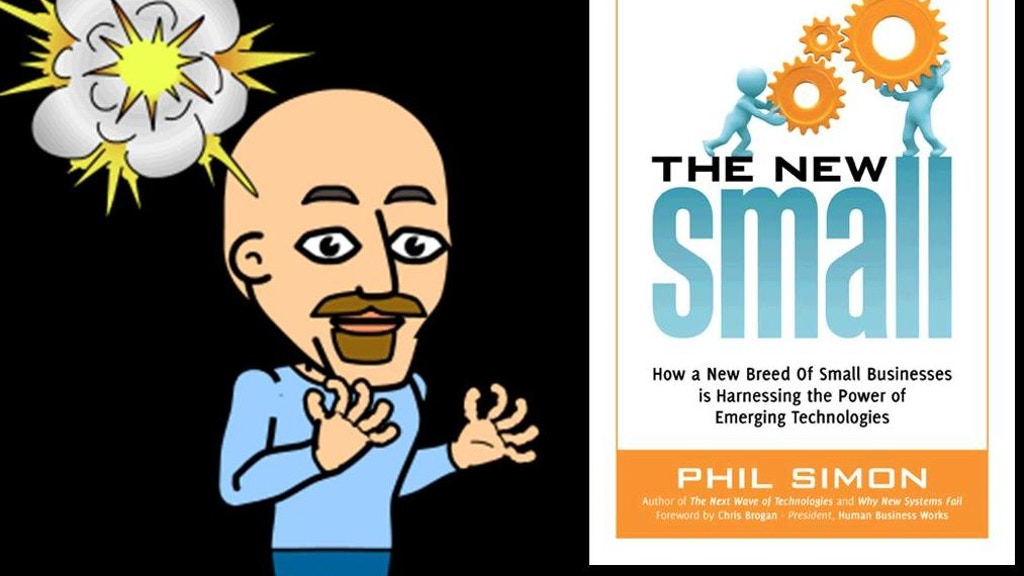 The New Small: My Third Book project video thumbnail