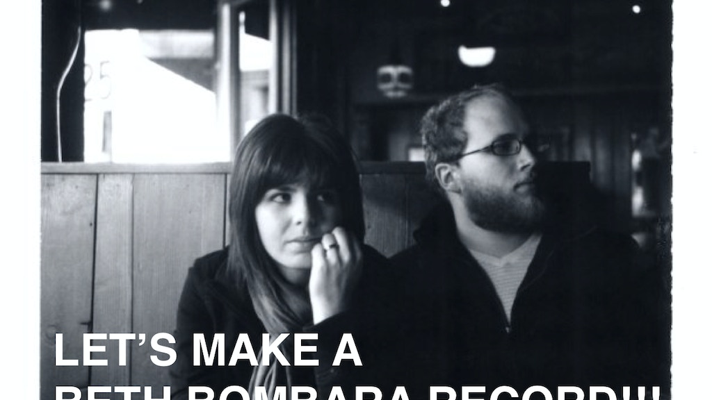 Let's make a Beth Bombara record on Vinyl!  project video thumbnail