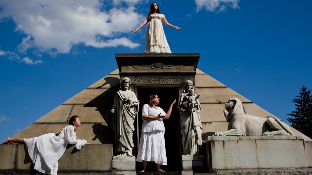 Angels & Accordions:  A Site-Specific Production at Green-Wood Cemetery project video thumbnail