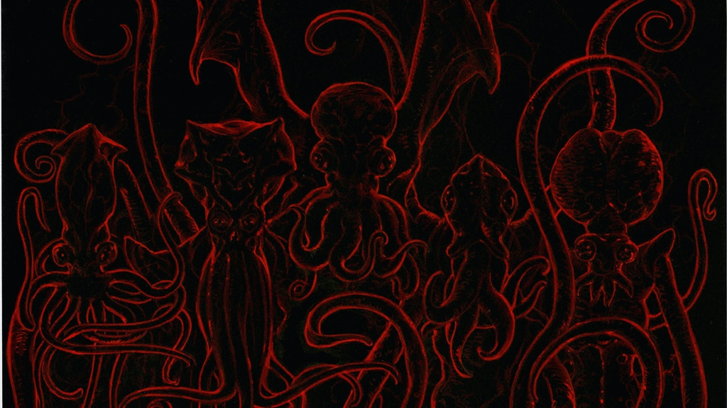 The Black Velvet Necronomicon: Black Velvet Cthulhu project video thumbnail