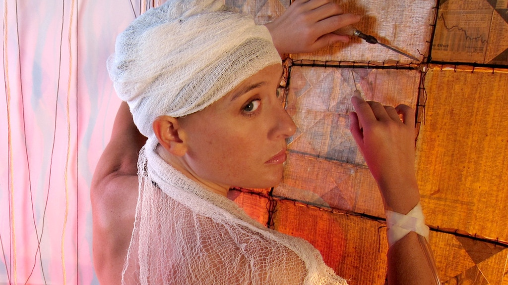 """Meditations: Eva Hesse"", a new play project video thumbnail"