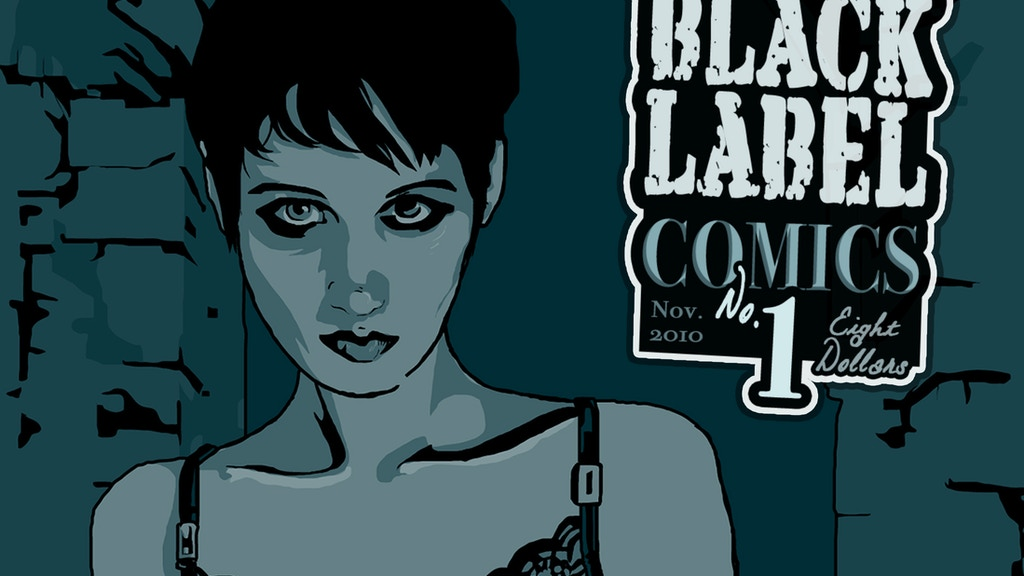 Black Label Comics at New York Comic Con project video thumbnail