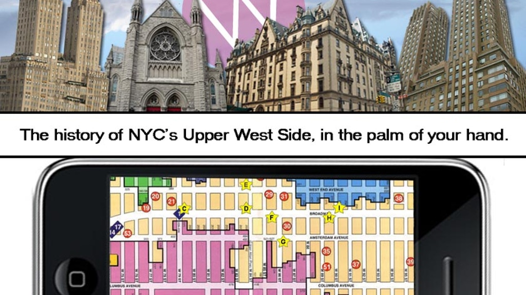 First ever iPhone walking tour app for NYC's Upper West Side   project video thumbnail