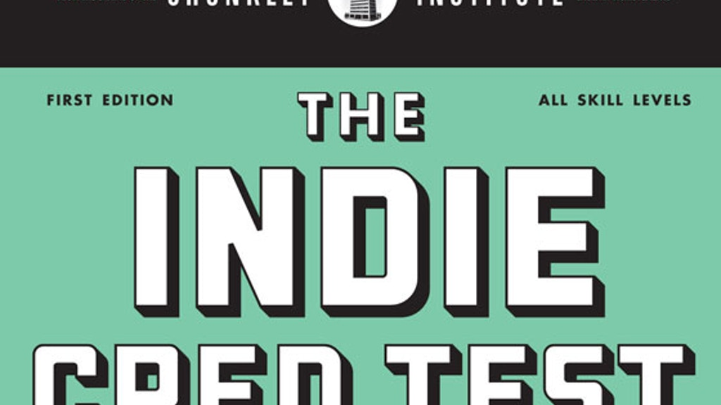 The Indie Cred Test (Presented by Chunklet Magazine) project video thumbnail