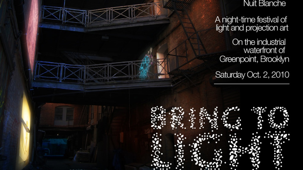 Bring to Light: Nuit Blanche New York project video thumbnail