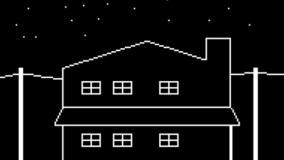 'A House in California,' a point+click art game project video thumbnail