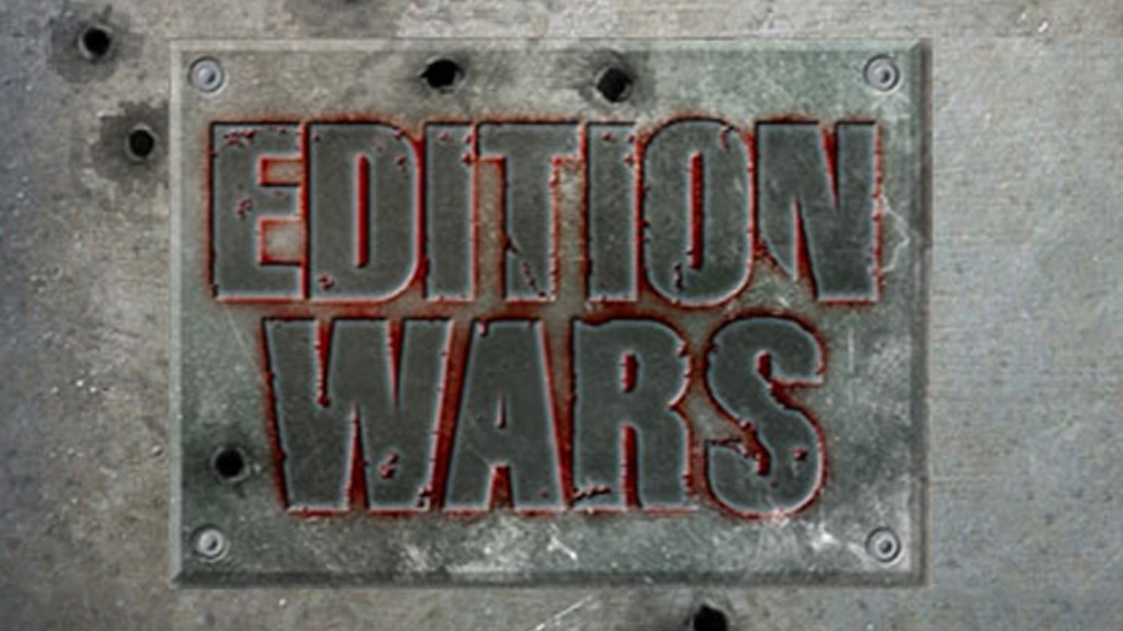 Edition Wars, by Gamer Nation Studios project video thumbnail