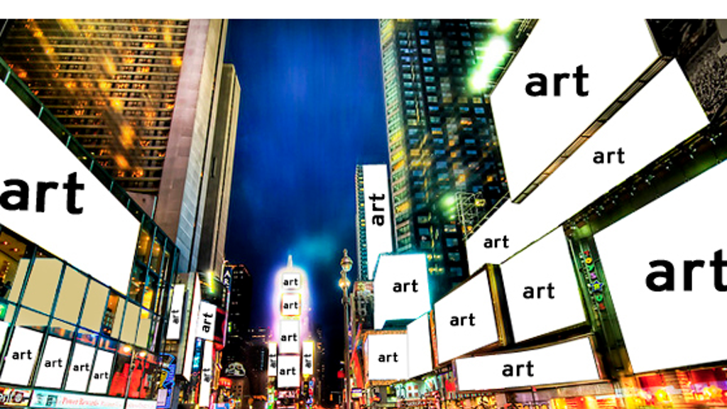 Times Square to Art Square (turn all billboards into art) project video thumbnail