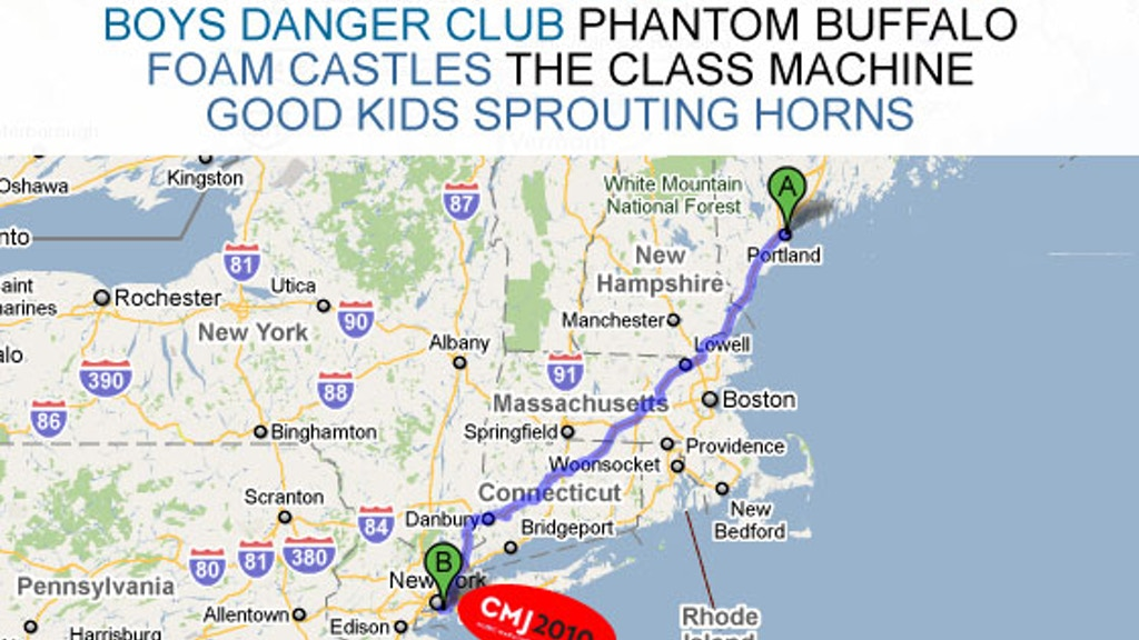 Maine Takes New York - Send Our Musicians to CMJ project video thumbnail