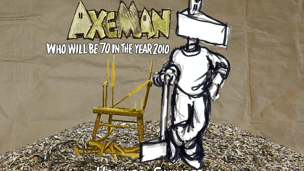 AxeMan: 70 year old steel-headed gentleman seeks printer project video thumbnail