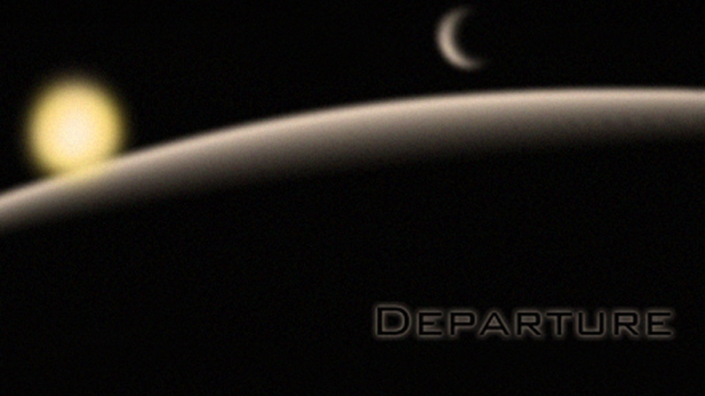 Departure project video thumbnail