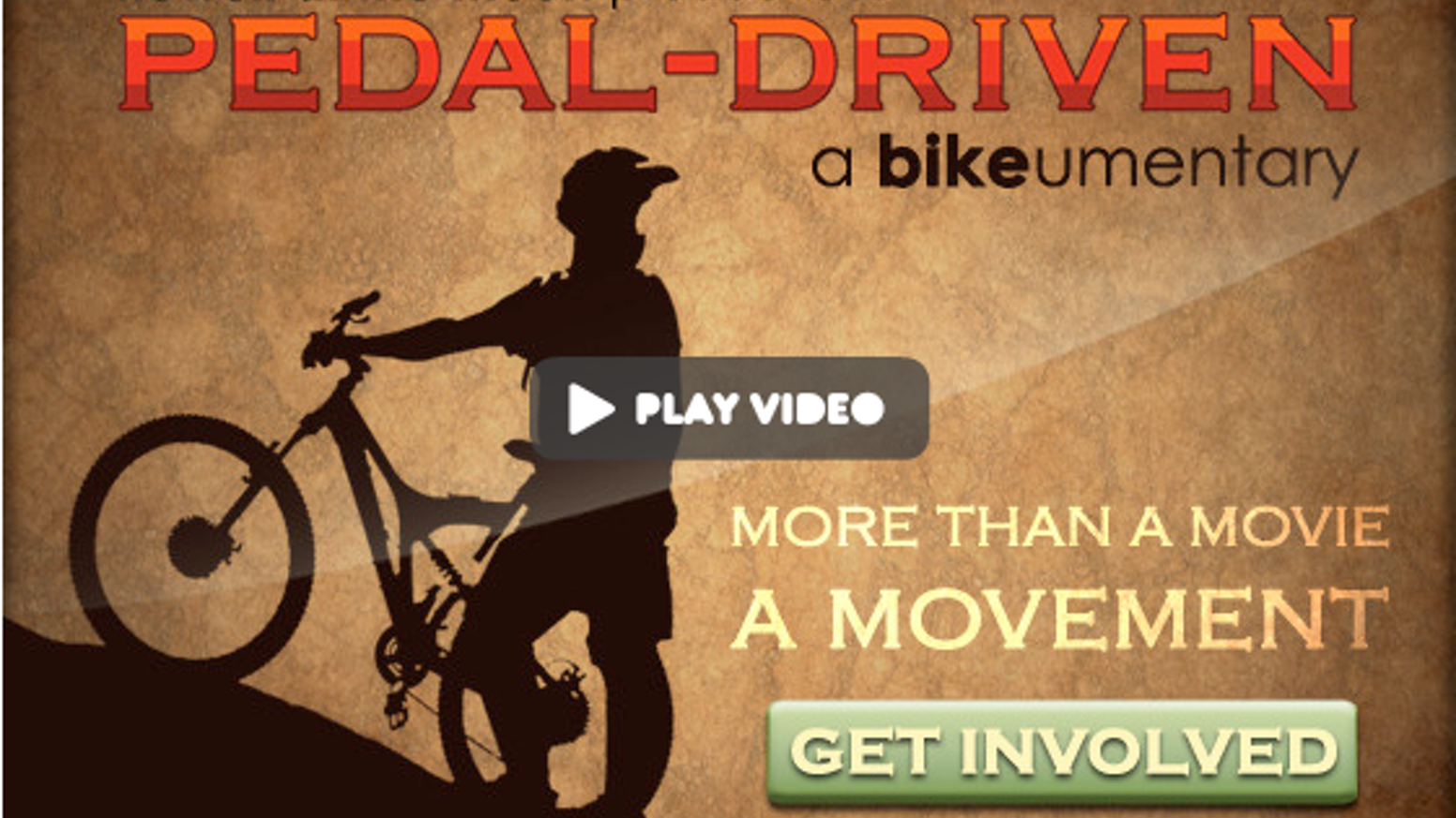 """""""Pedal Driven: a bike-umentary"""" - Pre-Purchase a DVD today!"""