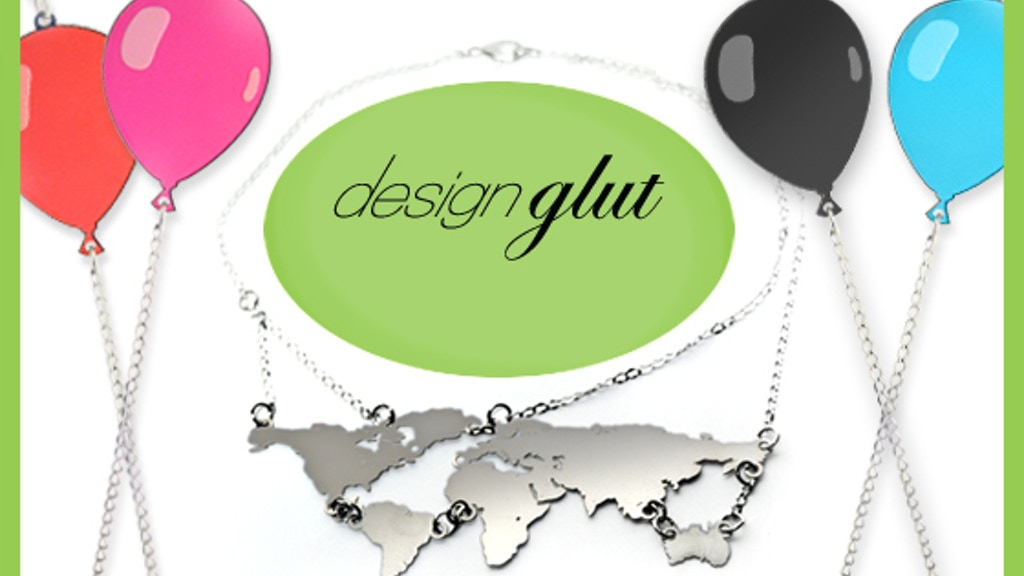 The future is shiny: Design Glut's new jewelry line project video thumbnail